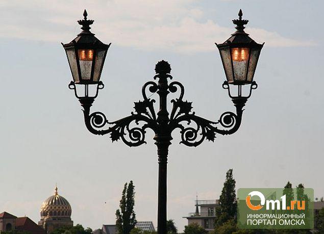 Омская мэрия раскошелится на фонари у школ и детских садов