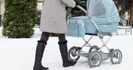 В Омске снег с крыши упал на годовалого ребенка