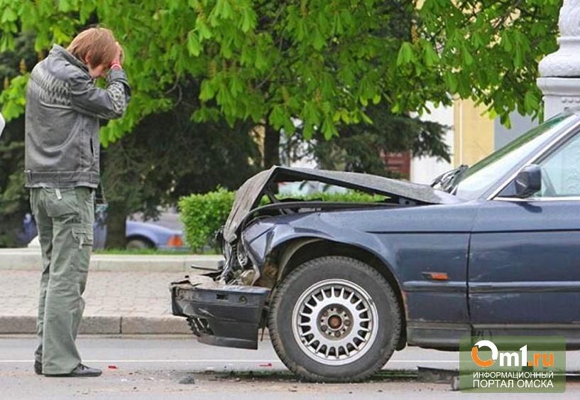 В Омске в двух авариях пострадали дети