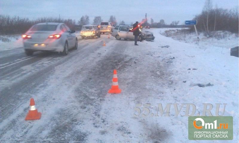 В перевозке детей, попавших в аварию под Омском, нашли нарушения