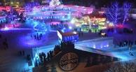 Метро, костер и горячий чай: в Омске открылся ледовый городок «Беловодье» (фото)