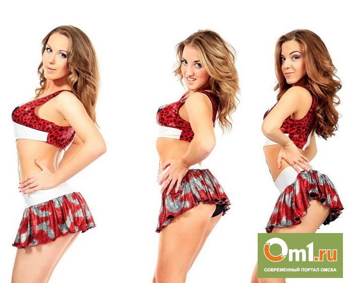 В Омске набирают девушек в группу поддержки «Авангарда»