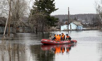 В Омской области отменили режим ЧС из-за паводка