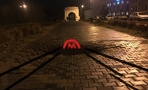 Провалившийся тротуар в центре Омска назвали входом в метро