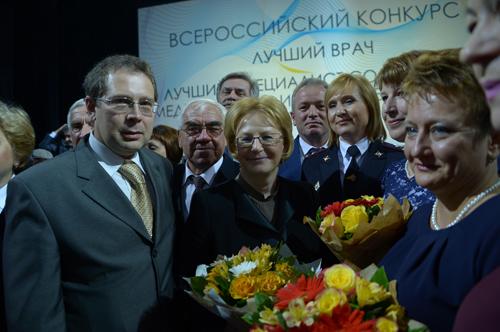 Пять омских врачей стали лучшими в России