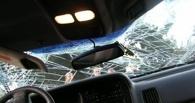 В центре Омска столкнулись два авто и минивэн