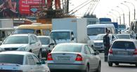 Из-за аварии на проспекте Маркса омичи попали в большую пробку у Цирка