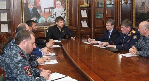 Кадыров приказал стрелять в полицейских, которые проводят спецоперации в Чечне без его ведома