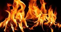 В Омской области на пожилой женщине загорелась одежда