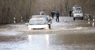 В Омске из-за паводка размыло еще одну дорогу