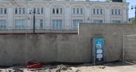 Берлинскую стену построили в центре Омска