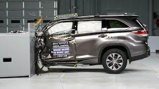 Toyota Highlander заслужил звание самого безопасного автомобиля