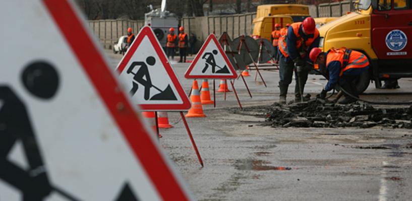 Мэрия представила график аварийного ремонта омских дорог