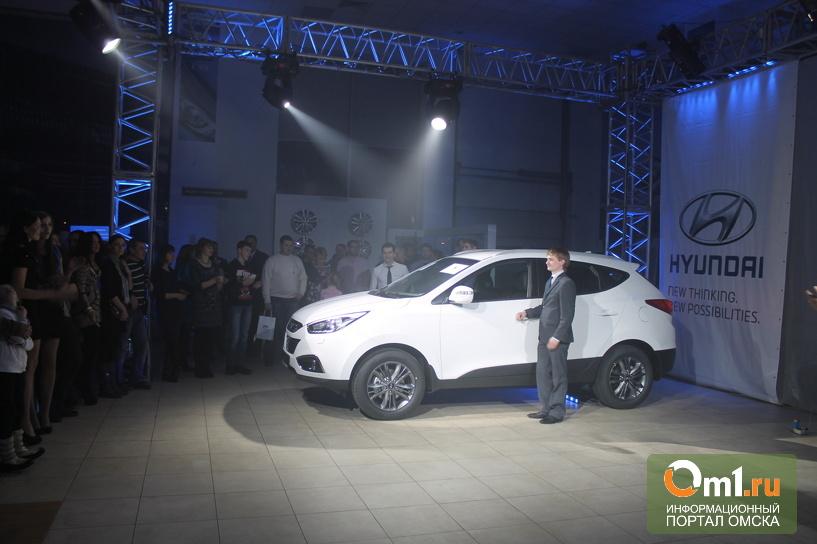 Омичам официально представили Hyundai ix35