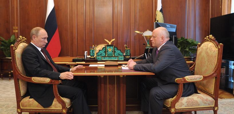 Виктор Назаров выслушает послание президента в Кремле