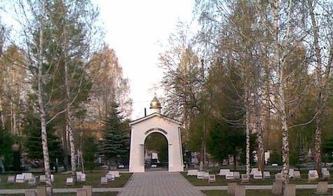 Складбища вОмске украли бюст «советского мэра» Глебова