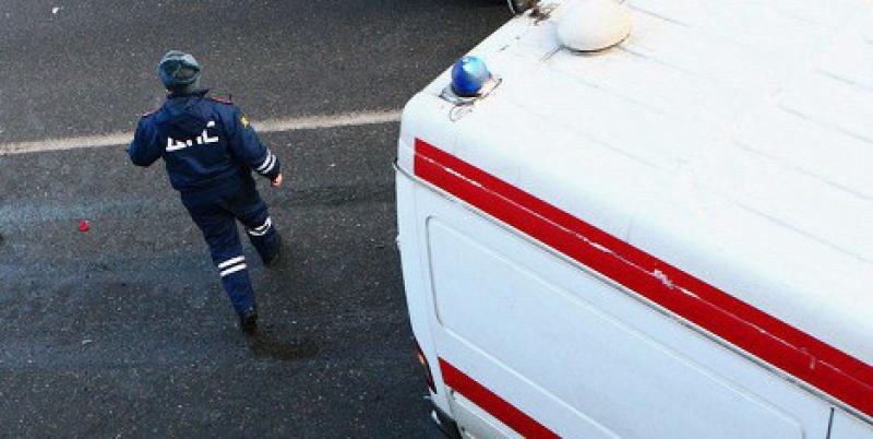 На трассе в Омской области автоледи устроила лобовое ДТП