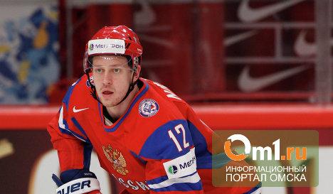 Омич Никитин получил травму в НХЛ