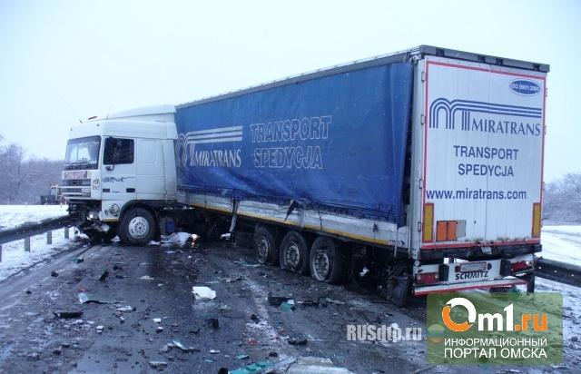 В авариях на трассе «Омск-Тюмень» виноваты сами водители