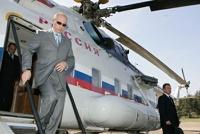 Для Путина подготовили вертолетную площадку в Кремле