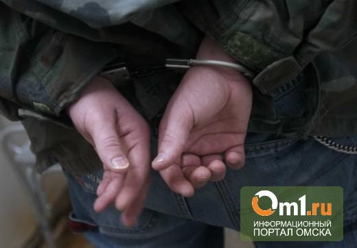 Омич без прав пытался уехать от полицейских на иномарке