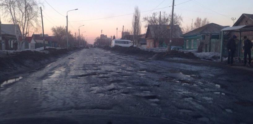 Мэрия Омска: ремонт дорог в городе идет круглосуточно