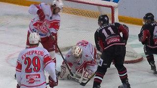 «Омские ястребы» уступили москвичам четвертую игру финала Кубка Харламова