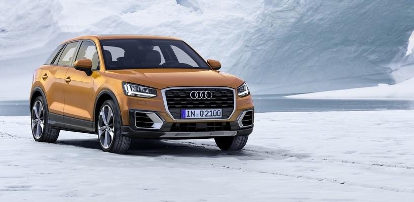 Самый маленький из «Ку»: Audi показала кроссовер Q2
