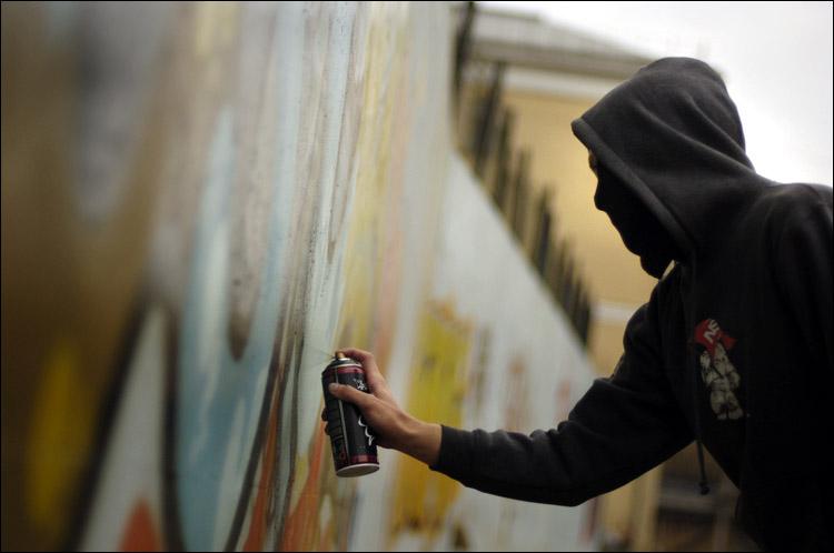 Омские граффитисты будут рисовать в переходах легально