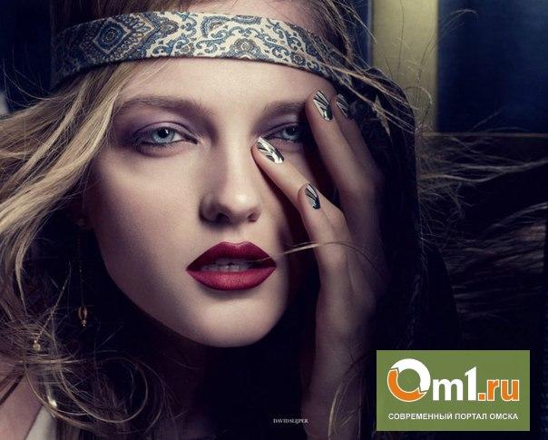 Модель из Омска попала на обложку февральского номера Elle