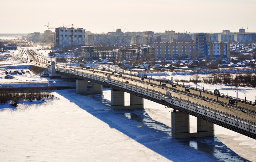 На содержание метромоста в Омске потратят 4 000 000 рублей
