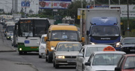 Пробки в Омске: ремонт дорог на Лукашевича и авария на Ленинградском мосту