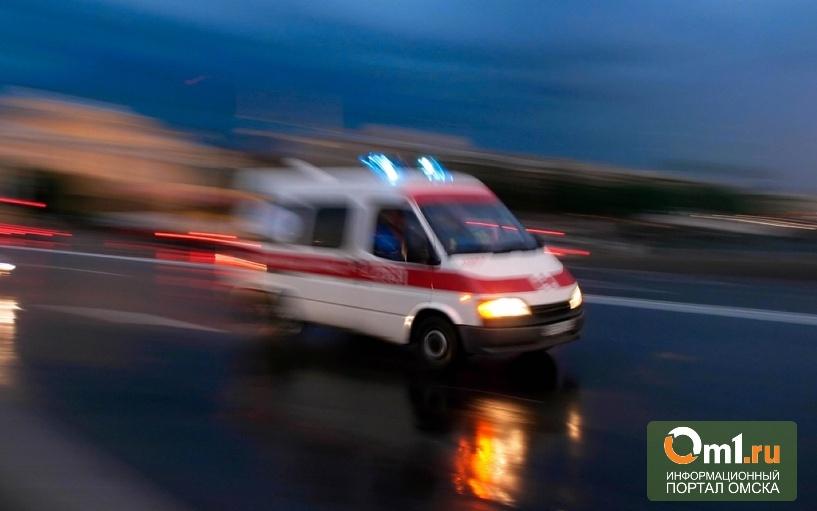 В Омске пьяный водитель сбил пешехода