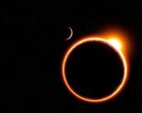 Сегодня земляне будут наблюдать гибридное солнечное затмение