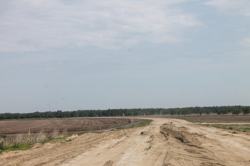 Строители: западный обход Омска будет сдан осенью этого года