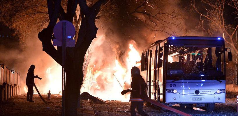 В столице Турции произошел теракт: взрыв унес жизни 28 человек