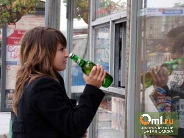 В Омске мать двоих детей продавала подросткам алкоголь