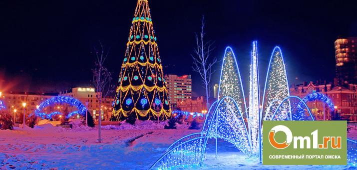 У Музыкального театра в Омске снова установят елку