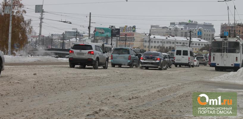 Двораковский рассказал Назарову, что Омск справляется с уборкой снега