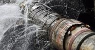 В центре Омска снова прорвало трубу — затоплена улица