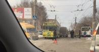 ДТП с троллейбусом и двумя маршрутками в Омске погрузило Левый берег в пробки