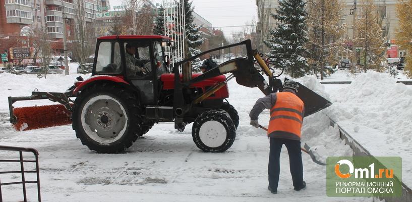 Мэрия сообщила, что дорожные службы продолжат работу на омских дорогах в каникулы