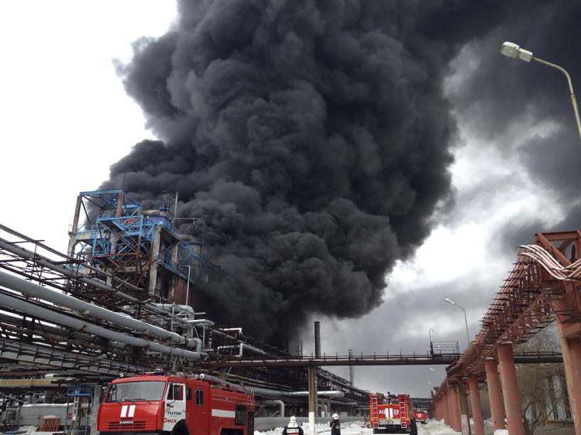 МЧС: Взрыв в Омске произошел на заводе СК