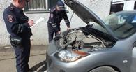 В Омске задержали автомобиль, угнанный в Тюмени