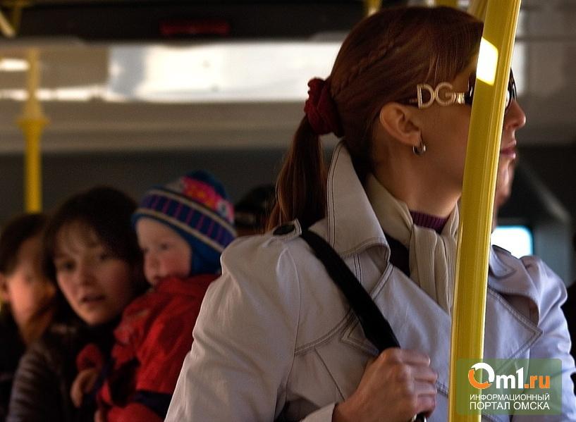 В Омске водители автобусов стали чаще попадать в ДТП