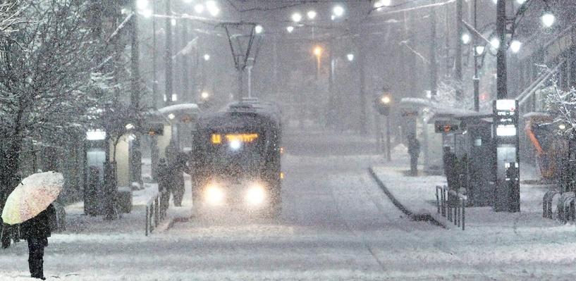 Синоптики обещают, что выпавший в Омске снег уже не растает