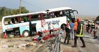 Автобус с российскими туристами разбился в Турции: 4 погибли, более 30 пострадали