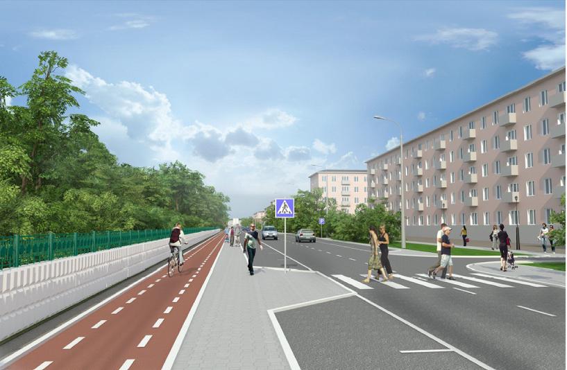 В Омске приступили к реконструкции улицы Андрианова