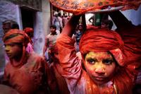 В Индии прошел праздник прихода весны