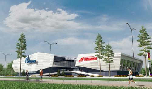 В Омске начинается строительство хоккейной академии «Авангард»